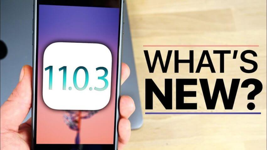APPLE RELEASES IOS 11.0.3: WHAT IS INCLUDED IN THE UPDATE?