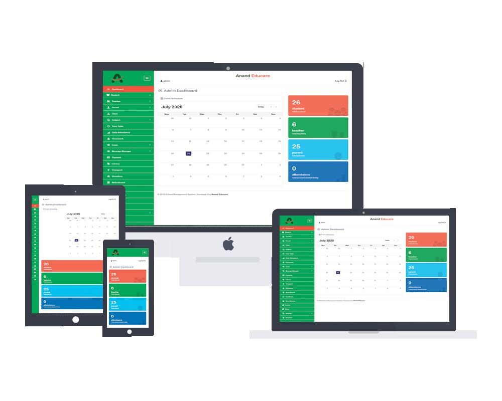 Anand Educare web development