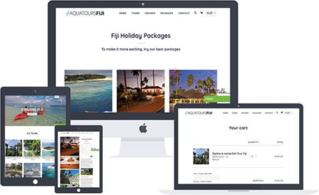 Fiji Holiday Packages Designing Development